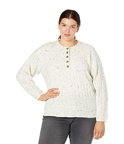 Madewell Plus Size Donegal Cherry Ribbed Henley