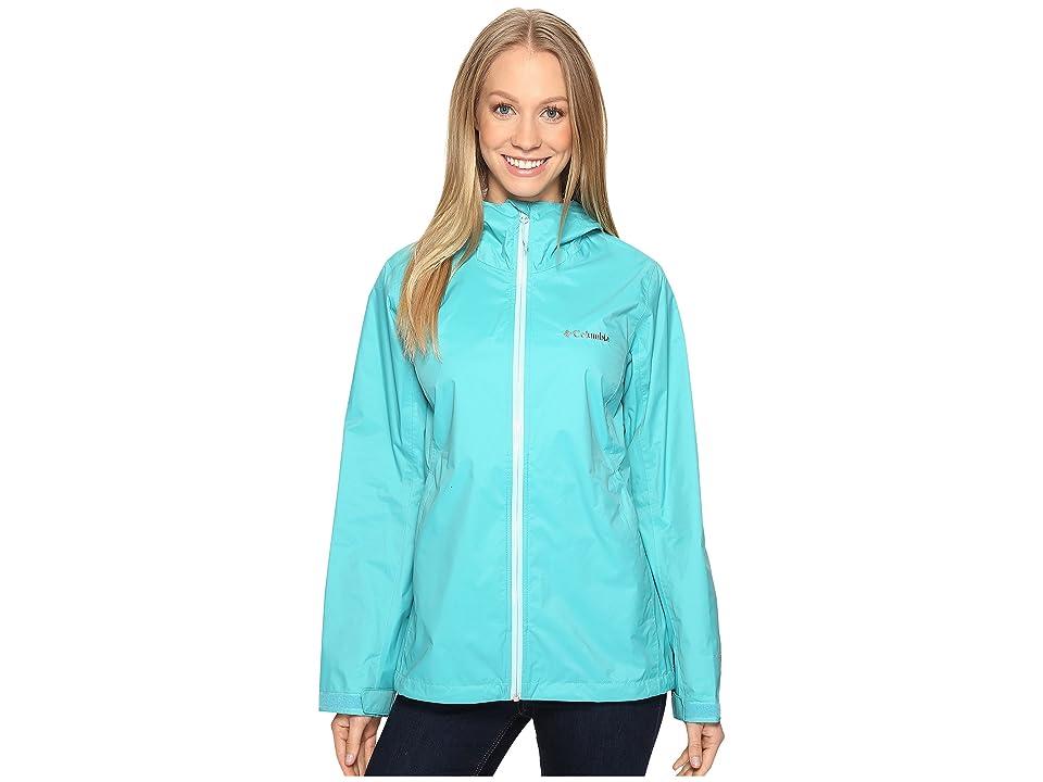 Columbia EvaPOURationtm Jacket (Miami/Ocean Water Zip) Women
