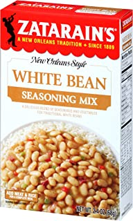 Zatarain's White Bean Seasoning Mix, 2.4 oz