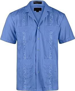 Men's Short Sleeve Cuban Guayabera