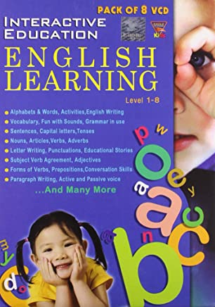 Interactive Education English Learning (Pack of 8 VCD)