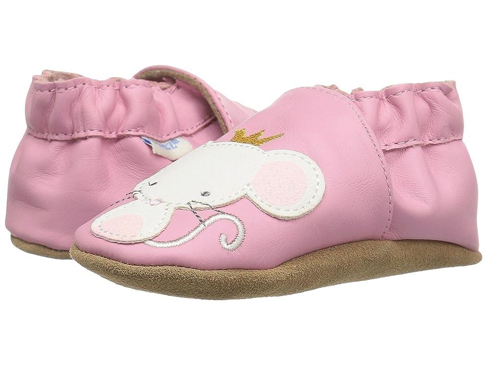 Robeez Princess Soft Sole (Infant/Toddler/Little Kid) (Pink) Girls Shoes