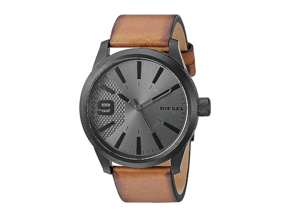 Diesel Rasp - DZ1764 (Cognac) Watches
