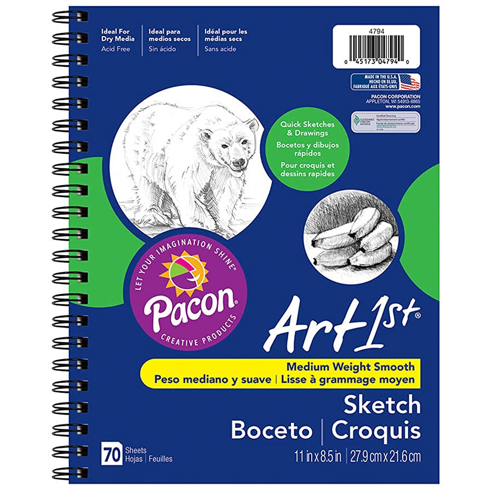 Pacon 4794 Art1st Sketch Diary, 8.5