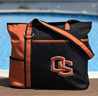 NCAA Tote Bag with Embroidered Logo by Charm14