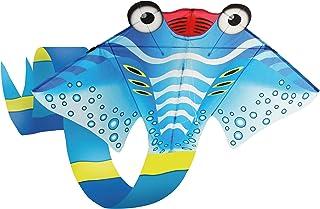 "AmaZing Kites 2D Nylon Manta Ray Kite - 210"" Tall (17 feet 6 inches) with 72"" Wingspan (6 ft)"
