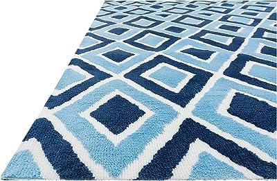 "Loloi ZOEY Area Rug, 3'-0"" x 5'-0"", Blue"