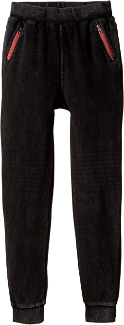 True Religion Kids - Moto Fleece Sweatpants (Big Kids)