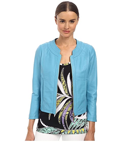 Just Cavalli Womens S04AM0126N08101 Light Blue - Coats & Outerwear