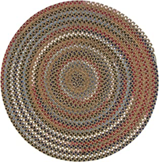 Colonial Mills Wayland Round Area Rug, 3X3, Olive