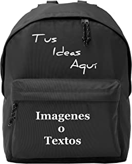 Mochila Adulto Personalizada. Instituto, Excursiones Color Azul Marino