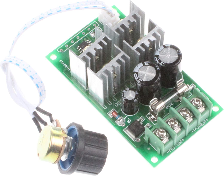 DC6 60V 12V 24V 36V 48V 30A PWM DC Motordrehzahlregler Schalter