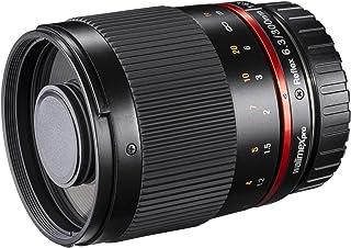 Walimex Pro 300mm 1:6,3 Objektiv für Sony E Mount, schwarz (manueller Fokus, für APS C Sensor gerechnet, Filterdurchmesser 25,5mm, mit abnehmbarer Gegenlichtblende)