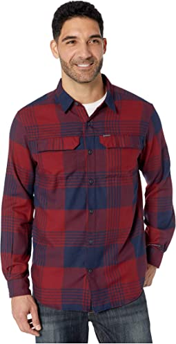 Columbia Navy Buffalo Plaid