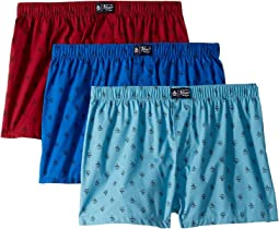 3-Pack Woven Fashion Boxer Brief