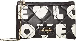 Love Is All Over Clutch/Shoulder Bag