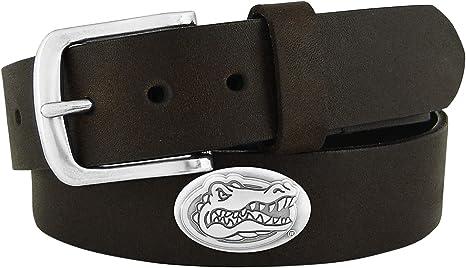 Brown ZEP-PRO NCAA boys Ncaa Florida Gators Zep-pro Childrens Leather Concho Belt