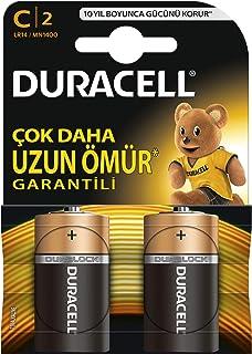 Duracell Lr14/Mn1400 Basic C Boy Pil 2'Li, Bakır/Siyah