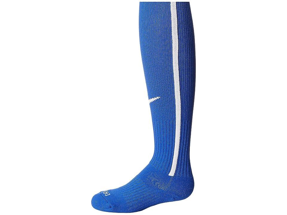 Nike Vapor III Over-the-Calf Team Socks (Game Royal/Football White/Football White) Knee High Socks Shoes