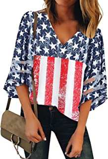 4th of july blouses