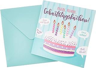 Depesche 3868.051 Glückwunschkarte mit Musik, Geburtstag, M