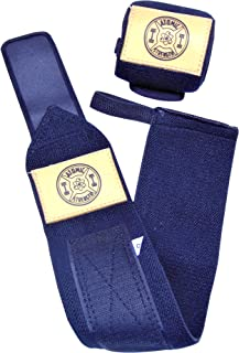 Atomic Strength Wrist Wraps for Men & Women,  Professional Quality,  Multiple Colors,  Unbeatable Wrist Support for Weightlifting,  Bodybuilding,  Powerlifting,  Strength Training,  Xfit,  Gym and More