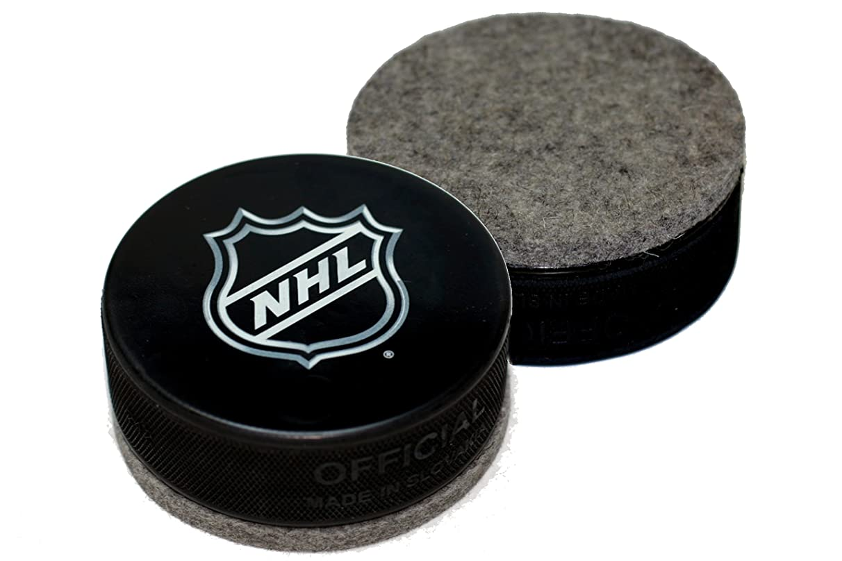 EBINGERS PLACE NHL Shield Logo Hockey Puck Board Eraser for Chalk Boards and Whiteboards