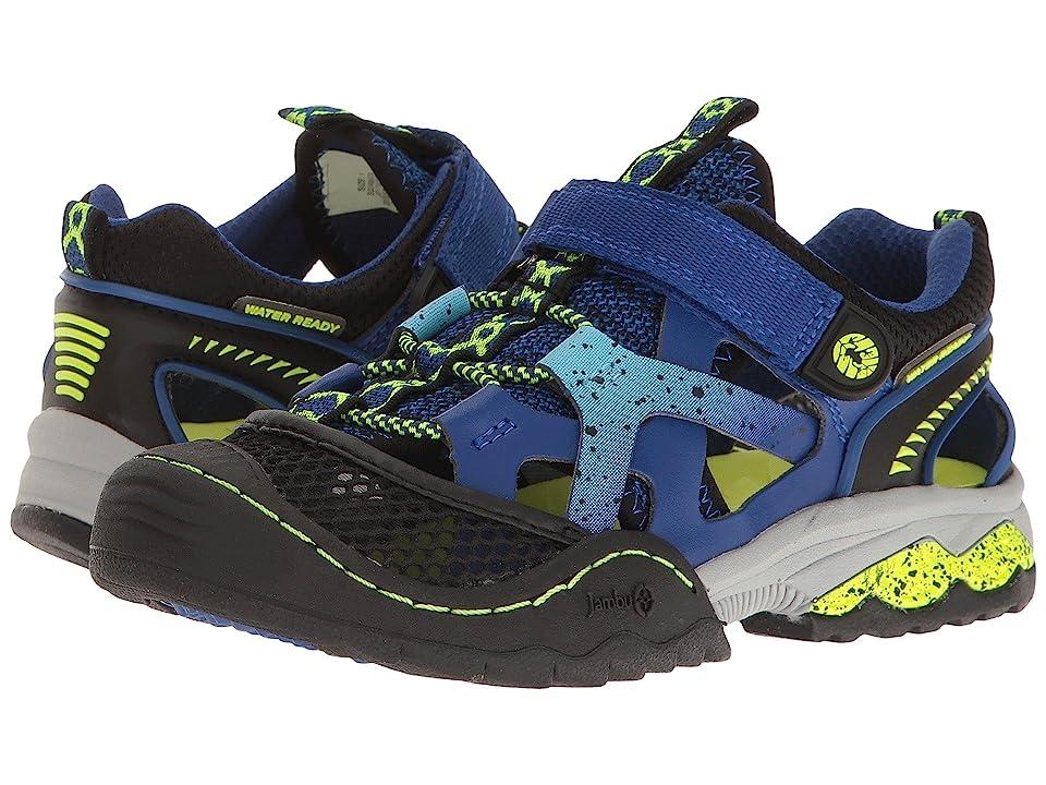 Jambu Kids Squamata (Toddler/Little Kid/Big Kid) (Blue/Neon) Boys Shoes