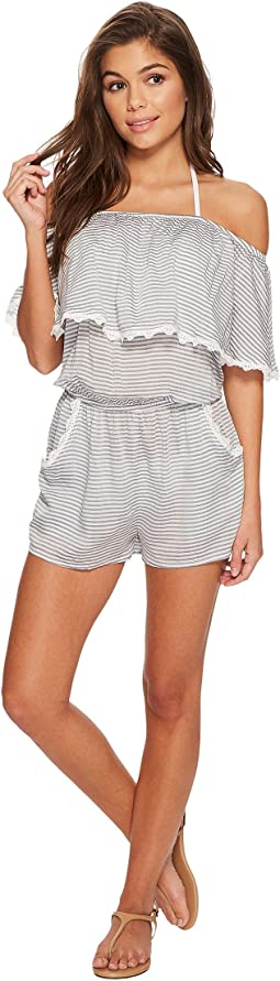 BECCA by Rebecca Virtue Nantucket Romper Cover-Up