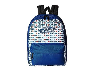 Vans Realm Backpack (True Blue/Vans Love) Backpack Bags