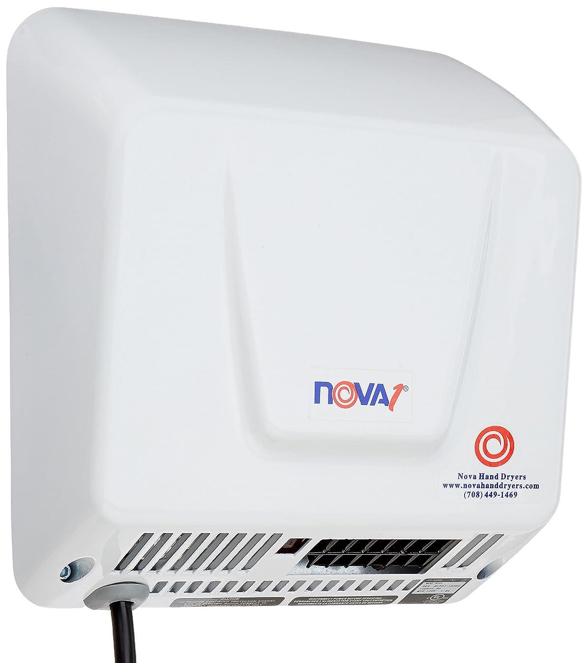 NOVA 0833 Economical Hand Dryers, 1 Plug-in, 110-220V