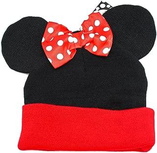 Disney Cuffed Beanie - Minnie Mouse with Bow