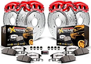 Power Stop KC2015-36 Front & Rear Z36 Truck and Tow Brake Kit with Calipers