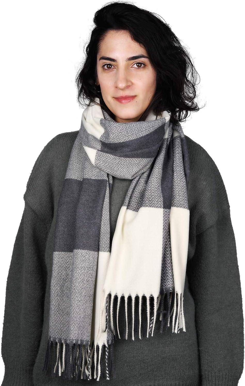 Women Pashmina Blanket Scarf Shawl Cashmere Feel Winter Large Oversized Scarves Wraps