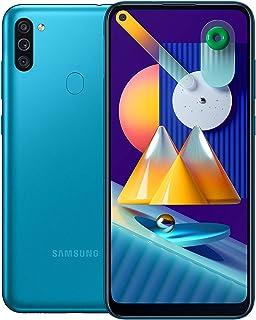 Samsung Galaxy M11 Dual SIM - 32GB 3GB RAM 4G LTE, UAE Version - Metallic Blue