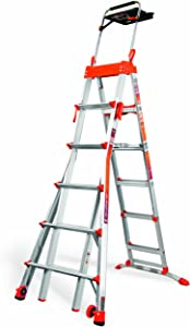 Little Giant, 15109-001, Combination Ladder, Aluminum, 6 to 10 Ft.