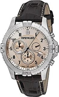 Men's Squadron Chrono Watch with Leather Bracelet