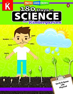 180 Days Of Science Grade Kindergarten