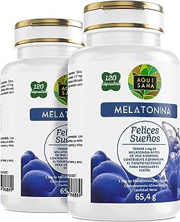 Amazon.es: Melatonina - 20 - 50 EUR: Alimentación y bebidas