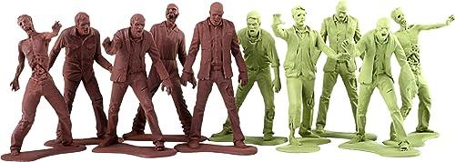 Gentle Giant gg80292 Figur Kino Walking Dead Zombie Army Men Pack 10