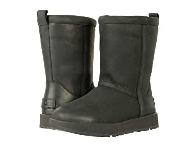UGG Classic Short L Waterproof (Black) Women
