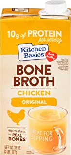 Sponsored Ad - Kitchen Basics Original Chicken Bone Broth 32 fl oz (Pack of 12)
