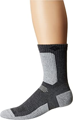 Columbia Hiking Ultra Lightweight Crop Crew Socks 1-Pack