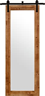 Stone & Beam Rectangular Vintage-Look Sliding Mirror, 70.5