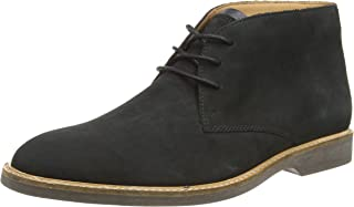 Mens Atticus Limit Black Nubuck G Fit Lace Up Desert Boots Size