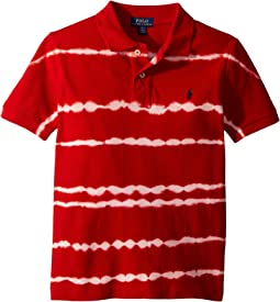 Tie-Dye Cotton Mesh Polo (Little Kids/Big Kids)
