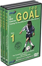 Wiel Coerver 123 Goal Training For Exciting and Productive Soccer Set