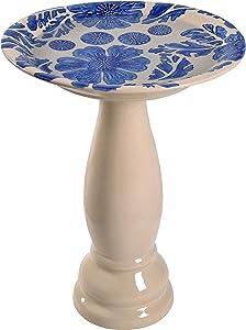 Kenroy Home 51085BLU Brandy Fountains, Blue Glaze