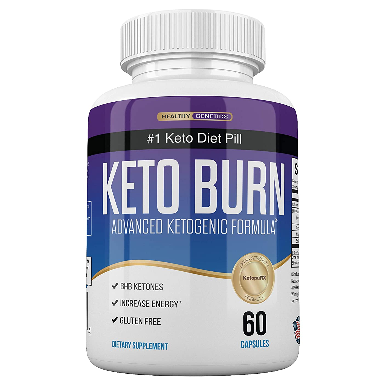 ダイジェスト参照する静脈Healthy Genetics ナンバーワン ケトジェニック ダイエット KETO BURN 燃焼系 サプリ 60粒/30日分 [海外直送品]