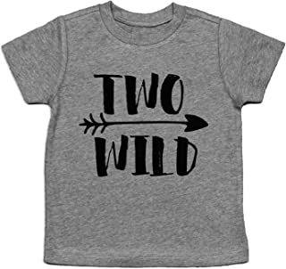 two wild birthday shirt
